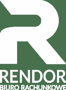 Logo Rendor Białe